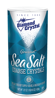 Diamond Crystal Sea Salt Coarse Can